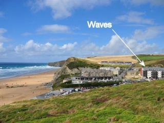 30 Waves located in Watergate Bay, Cornwall
