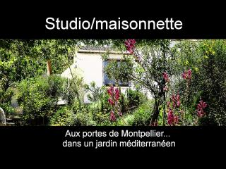 MONTPELLIER, studio dans un jardin méditerranéen, Montpellier
