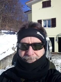 Giorgio, Guida di MTB versione invernale
