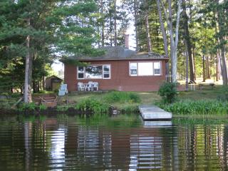 DeWeese's Cabin on Half Moon Lake , Northwoods, Tomahawk