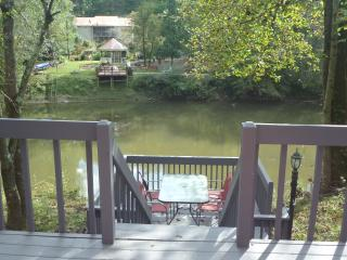 Convenient River Front Home, Ellijay