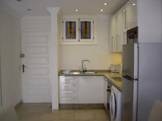 PS3 well equipped kitchen with washer microwave, oven etc
