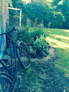 Herb garden rockery