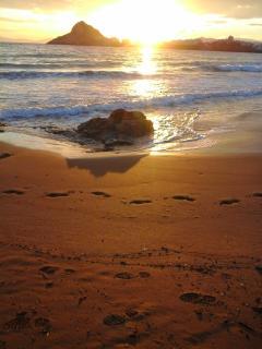 Nearest beach Isla del Fraille