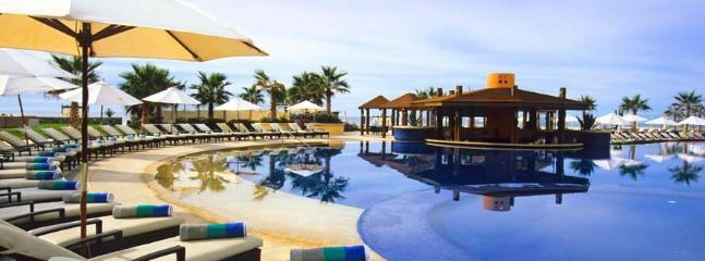 Immaculate pools around the resort offer family or adult only entree