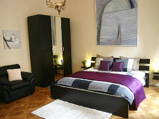 Central, Sunny Apt. w/ character, view + free wifi, Prague