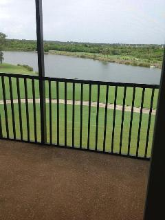 Close enough for great golf view, but far enough away for privacy.
