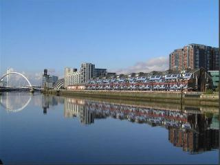 River View Luxury Duplex Penthouse, Glasgow City, Hydro SECC, Armadillo BBC, STV