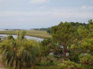 One of a Kind Side Balcony View of Light House, Hilton Head