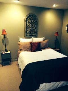 3rd bedroom private and beautifully appointed