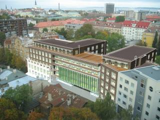 Center city, modern, quiet, garage, Tallin