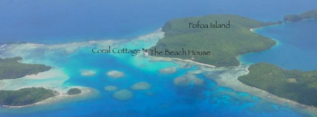Your location - Fofoa Island, Vava'u Islands, Kingdom of Tonga