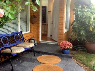 Main entrance - come in and relax!