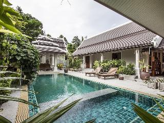 Villa Samui   -  mid-size luxury  4 bedrooms villa, Laem Set