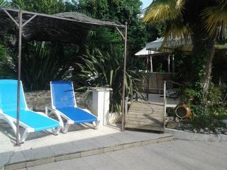 gîte 6 per, piscine, spa chauffés avec abri, Meursac