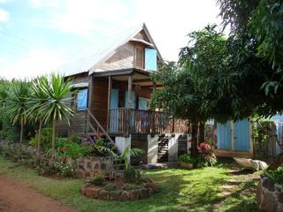 Mauritian typical Chalet for 4 people maximum, Pointe Aux Sables