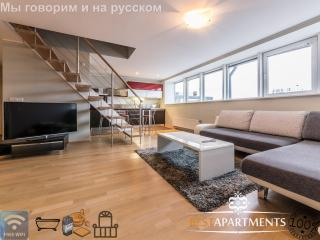 Luxury 2 bedroom penthouse with balcony & sauna, Tallinn