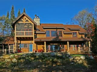 Riverfront Wilderness Home - Placidmere Lodge, Lake Placid