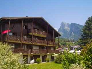 Spacious top floor apartment to rent in Samoens