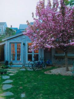 Main cottage during spring