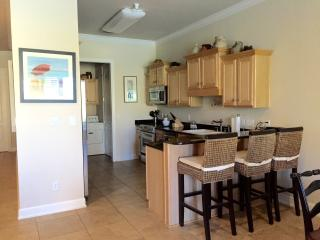 Great kitchen with granite countertops and stainless appliances.