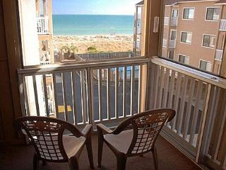 Sand Pebbles A26 - Enjoy great ocean views in this lovely oceanfront condo, Carolina Beach