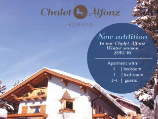 Chalet Alfonz | One-bedroom apt Bormio