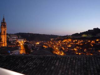 Modica - night view from the terrace