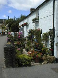 Cedar Cottage is in the village of Chideock