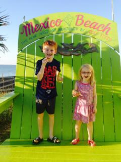 Our grandchildren love Mexico Beach.