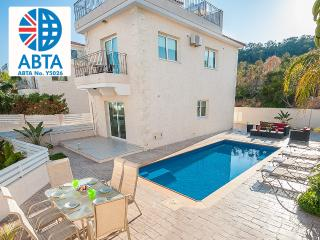 Oceanview Villa 051 - 4 bed with roof-top terrace, Protaras