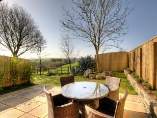 Terrace/Garden Warm and sheltered with flourishing plants/trees. Peaceful  ideal wildlife watching.