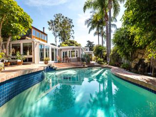 Del Mar Secluded Oasis w/ Private Pool, Spa, BBQ