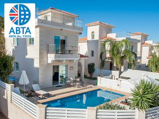 Oceanview Villa 045 - 3 bed with private pool, Protaras