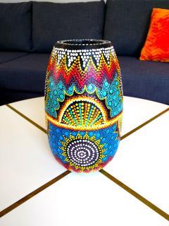 Aboriginal Vase!