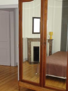 Room 2: The oak wardrobe
