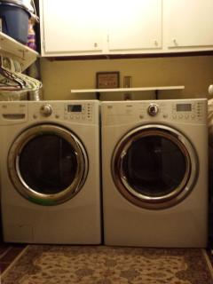 Main floor state of the art laundry units