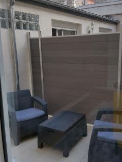 terrasse en cours d aménagement