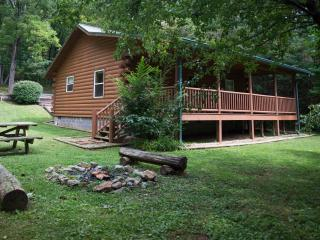FOX CREEK HILLSIDE CABIN in the Smokies, Bryson City