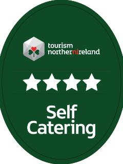 October 2015 - Awarded 4 Stars by Tourism Northern Ireland...