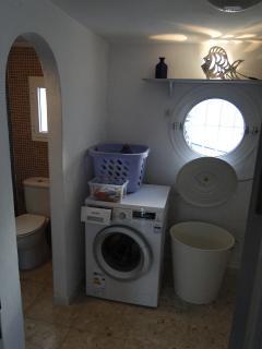 Ensuite Shower WC Double Room #3.   DZ 3 ensuite Dusche u. WC.