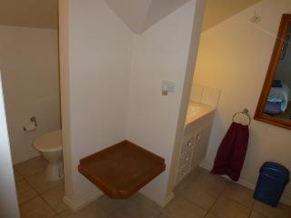 ensuite with toilet and sink