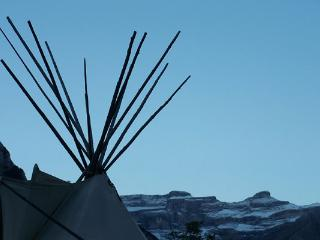 Tipis indiens nature, Gedre