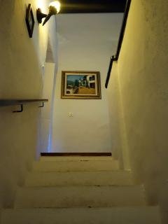 escalera hacia arriba