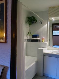 baño completo de la suite