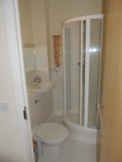 Ensuite shower and toilet