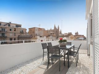Mirador - fantástico ático con terraza, Palma de Mallorca