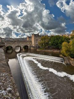 The beautiful city of Bath