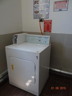 lavanderia y secadora edificio