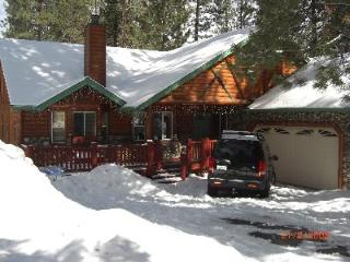 Log Cabin style home, Big Bear Lake